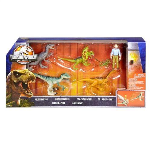 Alan Grant /& Velociraptor Raptor RARE ! Jurassic World Legacy Story Pack Dr