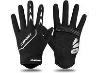 NEW Yobenki Cycling Gloves Full Finger Mountain Bike Gloves