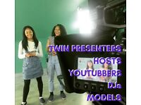 Videographer needed for twin presenter YouTube channel