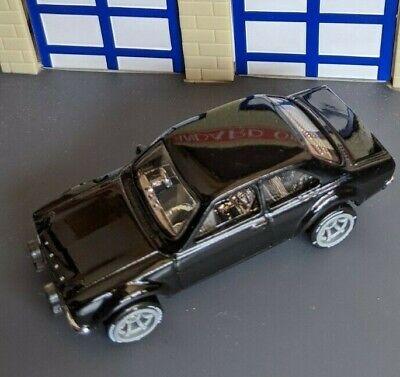 Hot Wheels Ford Escort RS1600 Custom - Naked, Wheel Swap.