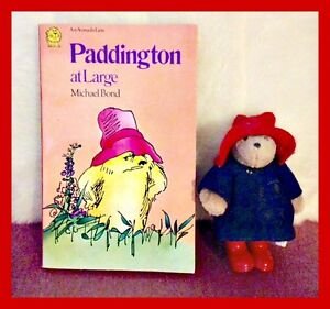 Paddington Bear & Paddington at Large Book circa 1985