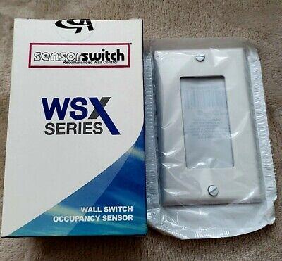 Lithonia Occupancy Sensor Wall Switch Wsx Wh Pir 1-pole 120277 Volt White