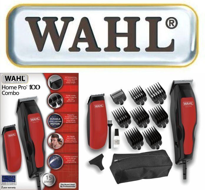 WAHL HOME PRO 100 COMBO NETZ -/ HAARSCHNEIDEMASCHINE + MINI TRIMMER 1 MM - 25 MM