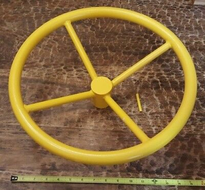 New 16 Diameter Valve Hand Wheel 34 Center Hole Roll Pin Shut Off Wheel