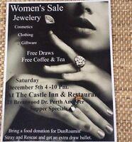 Women's Sale at the Castle Inn