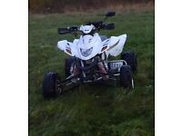 QUADZILLA DINLI 450 SPORT 2011 WHITE FULLY ROAD LEGAL