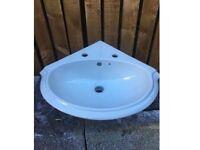 Lismore corner basin (sink) 2 holes