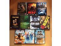 Job lot 10 DVDs thriller/action (bundle #15)