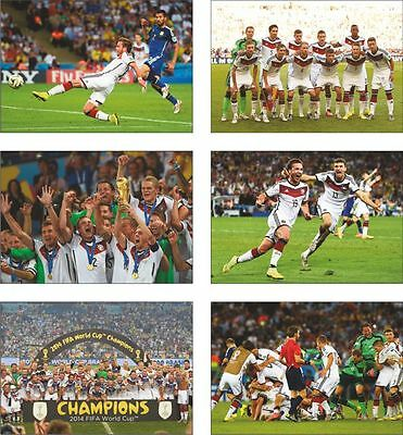 Germany World Cup 2014 Winners Postcard Set