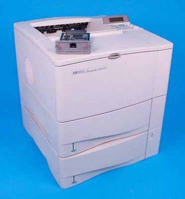 HP LASERJET 4100TN C8051A PRINTER REMANUFACTURED REFURBISHED 120 DAY WARRANTY