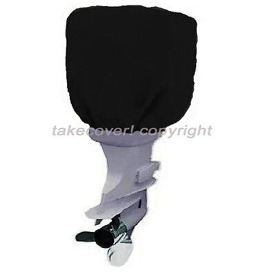 115 to 225 HP Boat Outboard Motor Engine Cover Black Universal Trailerable B25