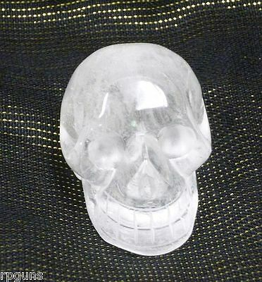 """Clear Quartz Crystal Skull 2"""""""