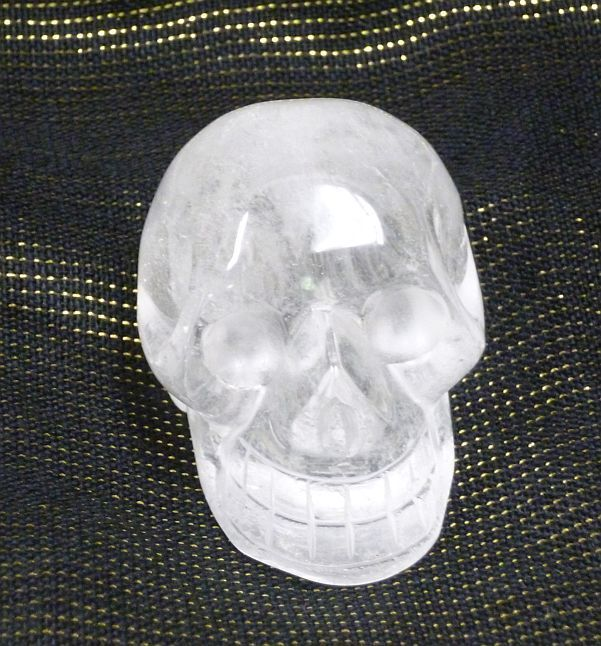 Clear Quartz Crystal Skull 2""