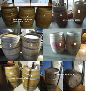 Wine Barrels rental. Up to 11 for rent. $35/Event London Ontario image 4