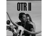 Jay Z / Beyonce OTR ll three seated tickets