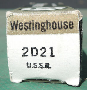 Westinghouse Vacuum Tube new-in-box 2D21 Regina Regina Area image 3