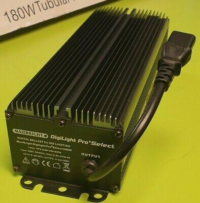 Hydroponics 600W Maxibright Digilight Electronic Digital Dimmable Ballast Pro