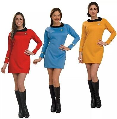 Original Star Trek Womens Uniform (Rubie's Women's Star Trek Dress Uniform Costume Original Classic)