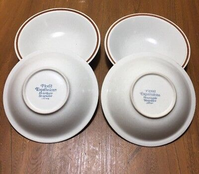 Spring Stoneware - Floral Expressions Hearthside Stoneware matches Springtime Bowls Lot Of 4 Japan