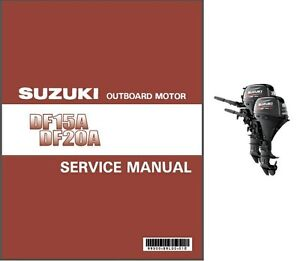 Suzuki outboard manual ebay for Suzuki outboard motor repair