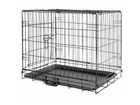 1 small dog cage & 1 large dog cage for sale