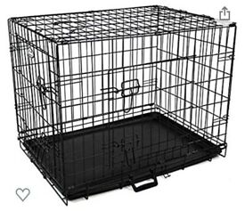 Dog Cage & Grey blackoutCover