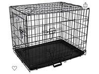 Dog Cage & Grey blackoutCover