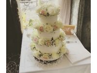 Cupcakes from £1, celebration Cakes from £40, wedding cakes £50