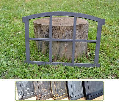 567 x 423mm Neu Fenster ,Eisenfenster, Scheunenfenster, Gussfenster, Gartenmauer