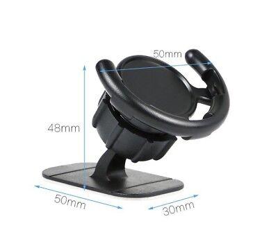 Pop Up Holder Dashboard Window Glass Mount For Popsocket 360 Degree Rotation