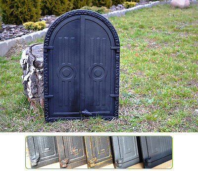 39,5 x 59 Cast iron fire door clay / bread oven / pizza stove smoke house DZ062