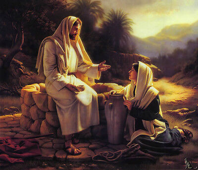 DIY Acrylic Painting Paint By Number Kit on Canvas Jesus Mission 16x20 inch