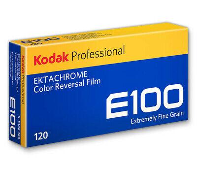 Kodak Ektachrome E100 120 Roll Film 5 Pack