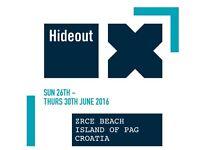 Standard Hideout Festival ticket
