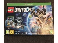 Xbox one LEGO dimensions with extras