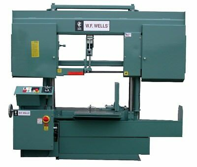 Wf Wells 20 X 24 Horizontal Twin Post H-2024-1 Band Saw New H-2024-1