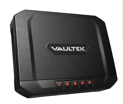 Vaultek Essential Series Quick Access Portable Safe Auto Open Lid Quick-Release