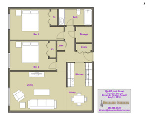 Your next home is waiting! 2 bedroom in Kamloops - Unit 203