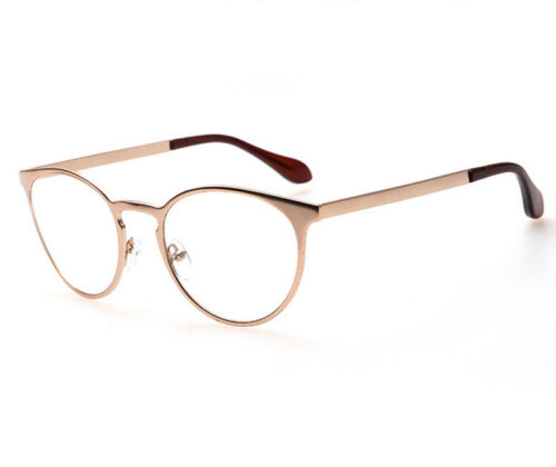 Eyeglass Retro Cat eye Fashion Metal Frame Gla