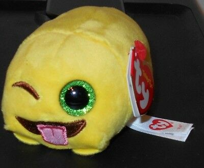 Ty Teeny Tys   Wink  The Emoji Movie  3  Stackable   2017 New  Plush Stuffed Toy