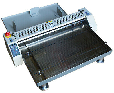 New 26 660mm Electric Creaser Scorer Perforator Paper Creasing Machine 110v 60w