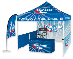 *** Custom Printed Pop Up Tent Canopies & Promotional Flags ***
