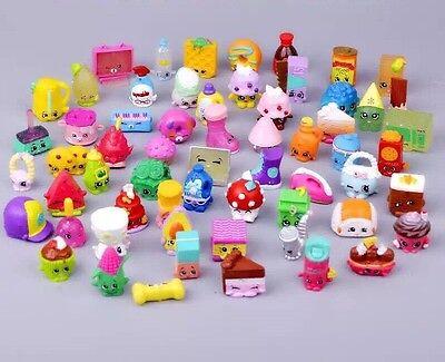 High quality 50Pcs *REAL* Shopkins Season 1 2 3 4 5 6 figure Random Toy Gift