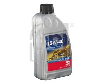 FEBI BILSTEIN Motoröl 32925 für 1 Liter OPEL MOVANO X70 Combi Kipper VIVARO X83