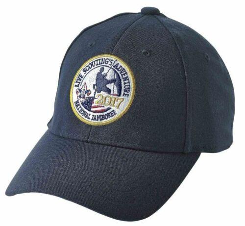 Boy Scout 2017 National Jamboree Logo Stretch Fit Cap Hat XL Official Licensed