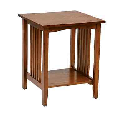 2 Drawers Nightstand Storage Wood End Table Bedside Organizer Modern For Bedroom