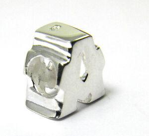 PLATA-925-Letras-Cuentas-Amuleto-a-para-paracord-leder-bead-Pulseras