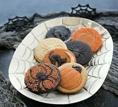 "Nordic Ware 3"" Halloween Cookie Stamps~New~Set Of Three"