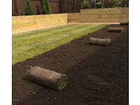 Garden services & landscaping flagging fencing turfing block paving Indian stone decking grass cuts