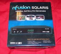 NFUSION SOLARIS FTA SATELLITE TV RECEIVER